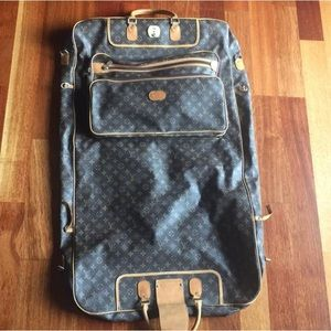 Louis Vuitton LV monogram garment bag